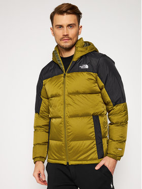 The North Face The North Face Kurtka puchowa Diablo NF0A4M9L5TU1 Zielony Regular Fit