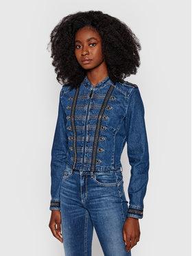 Guess Guess Veste en jean Vassa W1YN72 D4EV1 Bleu marine Slim Fit