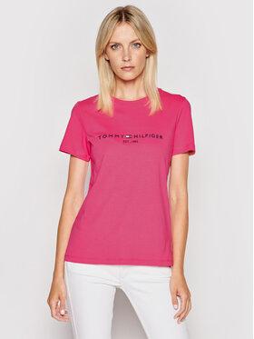 Tommy Hilfiger Tommy Hilfiger T-shirt Ess WW0WW28681 Rosa Regular Fit