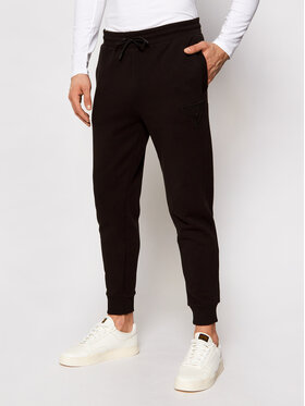 Guess Guess Teplákové kalhoty Long U1GA10 K68I1 Černá Regular Fit