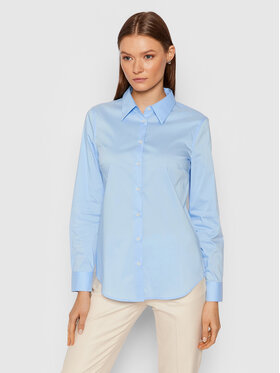 United Colors Of Benetton United Colors Of Benetton Chemise 5AWR5QCK5 Bleu Regular Fit