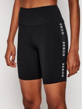 Guess Guess Pantaloni scurți sport O1GA07 KABR0 Negru Slim Fit