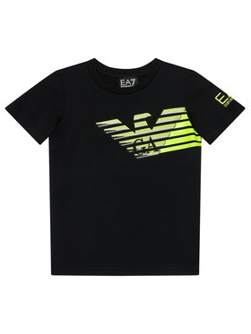 EA7 Emporio Armani EA7 Emporio Armani T-shirt 6KBT60 BJ6EZ 1200 Nero Regular Fit