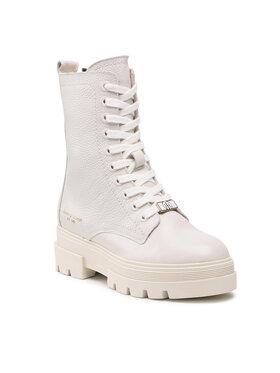 Tommy Hilfiger Tommy Hilfiger Turistická obuv Monochromatic Lace Up Boot FW0FW05946 Béžová