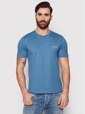 Calvin Klein Calvin Klein T-Shirt Chest Logo K10K103307 Tmavomodrá Regular Fit