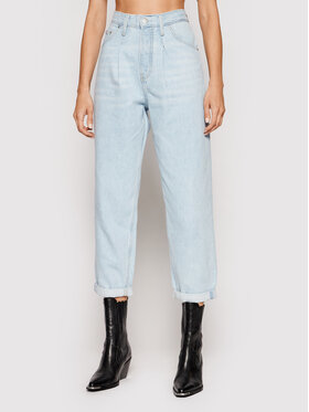 Calvin Klein Jeans Calvin Klein Jeans Дънки Baggy J20J216482 Син Relaxed Fit