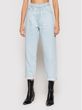 Calvin Klein Jeans Calvin Klein Jeans Jeansy Baggy J20J216482 Modrá Relaxed Fit
