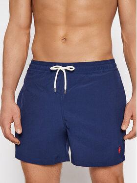 Polo Ralph Lauren Polo Ralph Lauren Szorty kąpielowe Traveler 710837404008 Granatowy Slim Fit