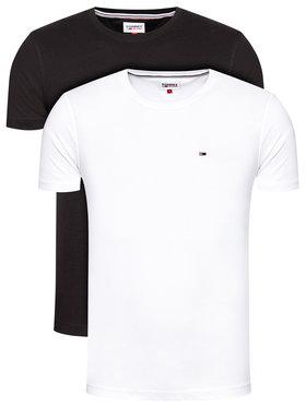 Tommy Jeans Tommy Jeans Komplet 2 t-shirtów Tjm 2 Pack Cneck Tee DM0DM10705 Kolorowy Slim Fit