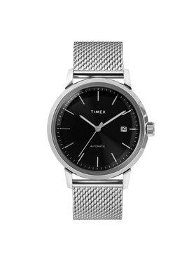 Timex Timex Karóra Marlin Automatic TW2T22900 Ezüst