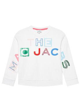 Little Marc Jacobs Little Marc Jacobs Majica dugih rukava W15546 S Bijela Regular Fit