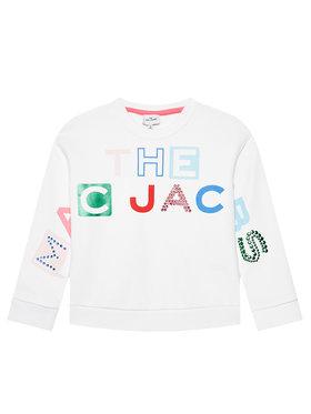 Little Marc Jacobs Little Marc Jacobs Sweatshirt W15546 S Blanc Regular Fit