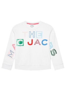 Little Marc Jacobs Little Marc Jacobs Sweatshirt W15546 S Weiß Regular Fit