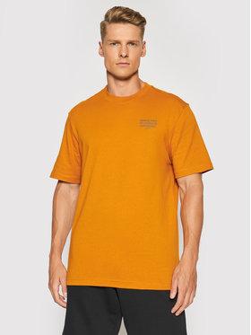Reebok Reebok T-Shirt Classics Camping GS4195 Pomarańczowy Oversize