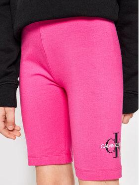 Calvin Klein Jeans Calvin Klein Jeans Medžiaginiai šortai Monogram Cycling IG0IG00861 Rožinė Regular Fit