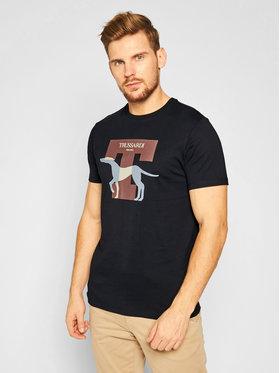 Trussardi Jeans Trussardi Jeans Tricou 52T00432 Negru Regular Fit