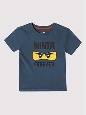 LEGO Wear LEGO Wear T-Shirt 12010188 Tmavomodrá Regular Fit
