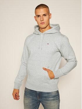 Tommy Jeans Tommy Jeans Mikina Regular Fleece DM0DM09593 Sivá Regular Fit