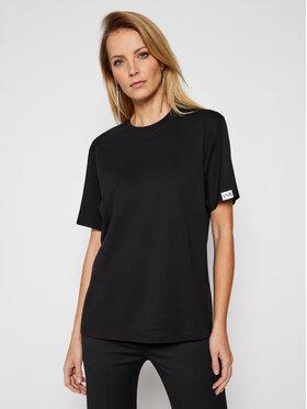 Victoria Victoria Beckham Victoria Victoria Beckham T-shirt Single 2121JTS002393A Crna Regular Fit