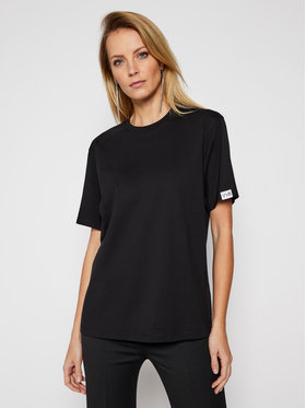 Victoria Victoria Beckham Victoria Victoria Beckham T-Shirt Single 2121JTS002393A Czarny Regular Fit