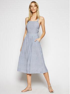 Roxy Roxy Letní šaty Summer Transparency ERJWD03423 Modrá Regular Fit