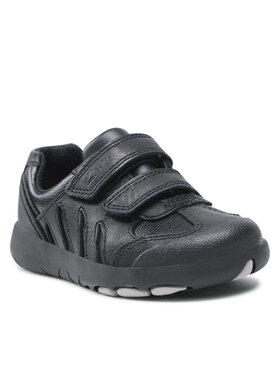Clarks Clarks Sneakersy Rex Stride T 261614397 Czarny