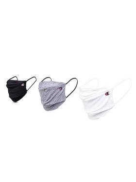 Champion Champion Комплект 3 маски от плат 805371 EM006 Бял