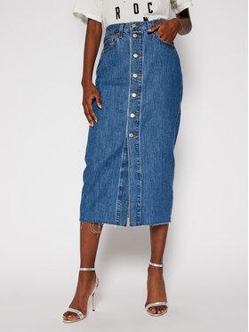 Levi's® Levi's® Džínová sukně Gonne Donna 85874-0003 Modrá Regular Fit