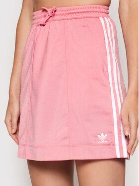 adidas adidas Mini sukně adicolor Classics Tricot H37775 Růžová Regular Fit