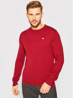 Napapijri Napapijri Sweter Damavand C 2 NP0A4EMW Bordowy Regular Fit