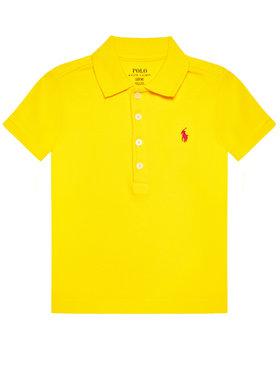 Polo Ralph Lauren Polo Ralph Lauren Тениска с яка и копчета Ss Polo 313698589087 Жълт Regular Fit