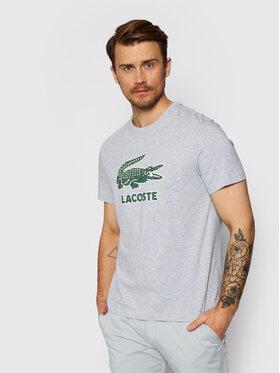 Lacoste Lacoste T-shirt TH0063 Grigio Regular Fit