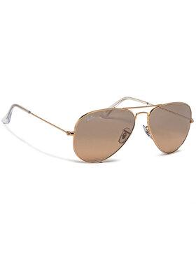 Ray-Ban Ray-Ban Okulary przeciwsłoneczne Aviator Large Metal 0RB3025 001/3E Złoty