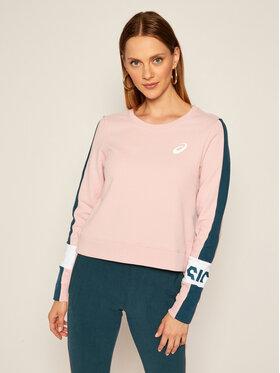 Asics Asics Sweatshirt Colorblock 2032B690 Rosa Regular Fit