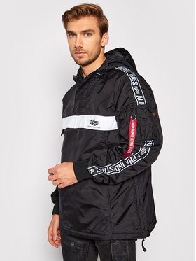 Alpha Industries Alpha Industries Kurtka puchowa AI Tape Anorak 198133 Czarny Regular Fit
