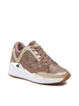 Guess Guess Sneakersy FL7TRS FAL12 Brązowy
