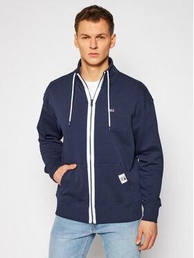Tommy Jeans Tommy Jeans Bluză Tjm Solid Track DM0DM10704 Bleumarin Regular Fit