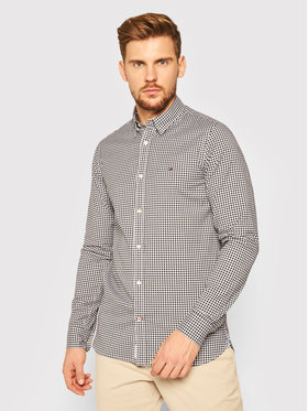 Tommy Hilfiger Tommy Hilfiger Риза Peached MW0MW14996 Тъмносин Slim Fit