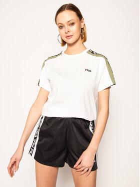 Fila Fila T-Shirt Tandy 687686 Biały Regular Fit
