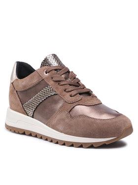 Geox Geox Sneakersy D Tabelya A D15AQA 022BN C5005 Hnedá
