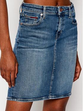 Tommy Jeans Tommy Jeans Fustă de blugi Classic Denim DW0DW08900 Albastru Regular Fit