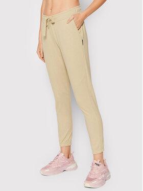Outhorn Outhorn Teplákové kalhoty SPDD613 Béžová Regular Fit