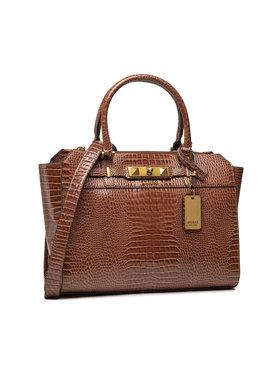 Guess Guess Дамска чанта Raffie (CB) HWCB77 60230 Кафяв
