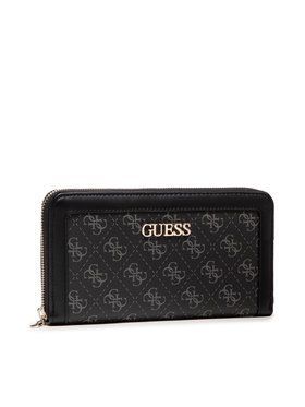 Guess Guess Portefeuille femme grand format Washington (SG) SLG SWSG81 24630 Noir