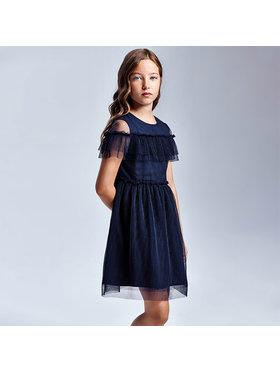 Mayoral Mayoral Елегантна рокля 6923 Тъмносин Regular Fit