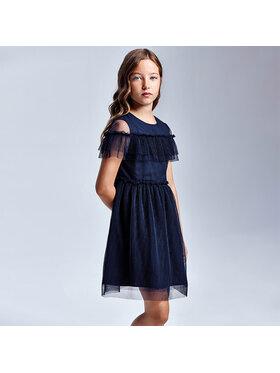 Mayoral Mayoral Φόρεμα κομψό 6923 Σκούρο μπλε Regular Fit