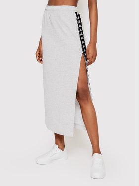 Kappa Kappa Midi sukňa Ismini 309092 Sivá Regular Fit
