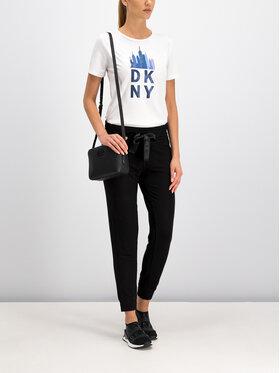 DKNY Sport DKNY Sport Teplákové kalhoty DP9P1890 Černá Regular Fit