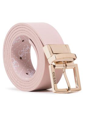 Guess Guess Moteriškas Diržas Tyren Belts BW7415 VIN35 Rožinė