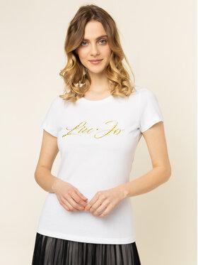 Liu Jo Liu Jo T-Shirt WA0427 J5703 Biały Regular Fit